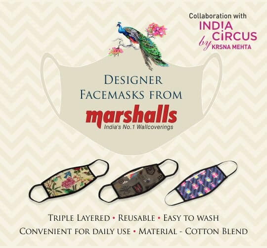 Reusable Face Masks Krsna Mehta, Fashionable Design Face Masks | Marshalls India Shop Online