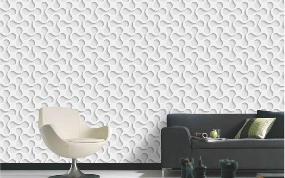 3D elegant repeating geometric pattern - Marshalls