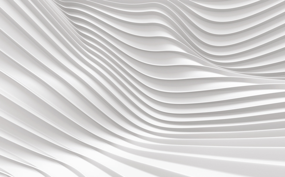 3D white stripe waves pattern - Marshalls