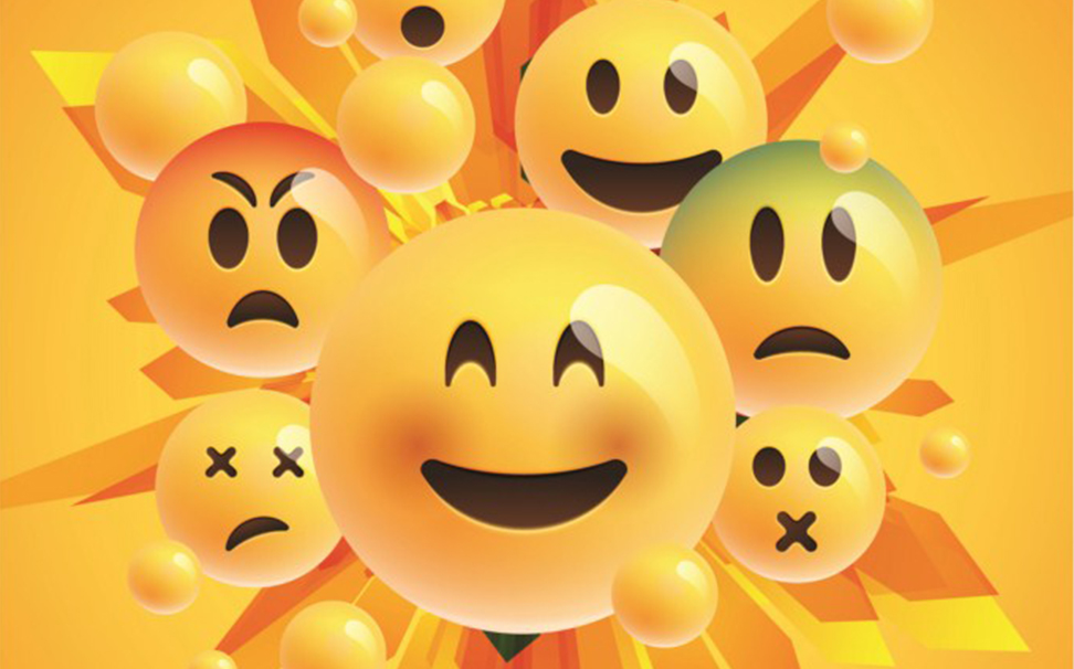 Exciting collection of yellow emoticons - Marshalls