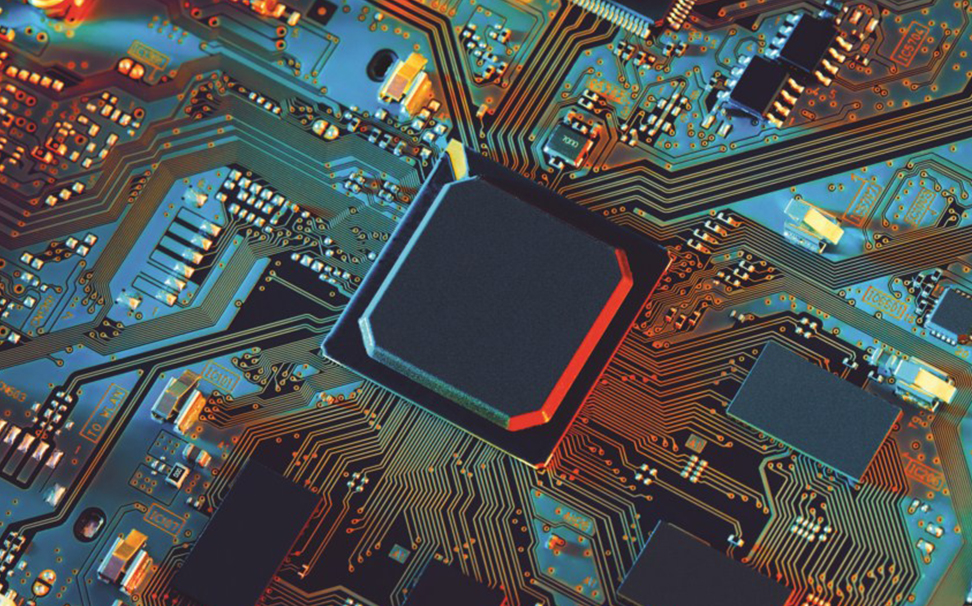 Close-up of an electronic circuit board - Marshalls
