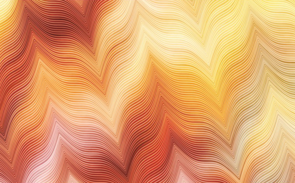 Colorful wavy striped zigzag pattern 1 - Marshalls