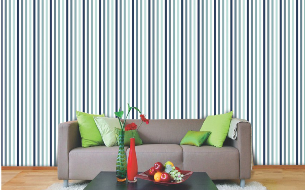 Blue shade stripe pattern - Marshalls