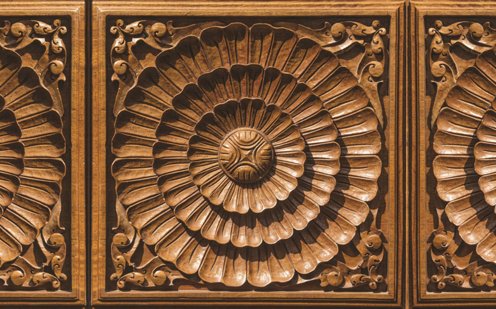 ceiling wooden carving 5