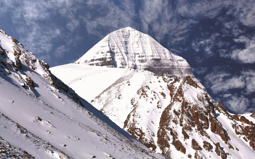 A magnificent view of Mount Kailash - Marshalls