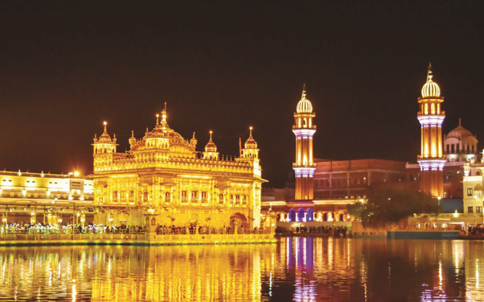 Designed to make your walls alive with its vibrant hues, The Golden temple - Marshalls