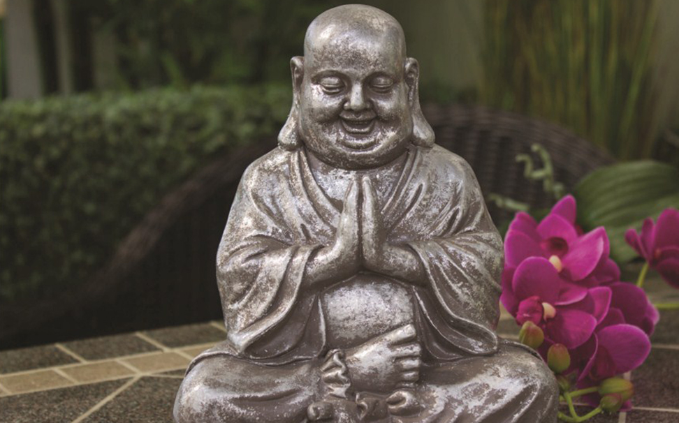Laughing Buddha, brings good fortune, satisfaction & wealth inone's life - Marshalls