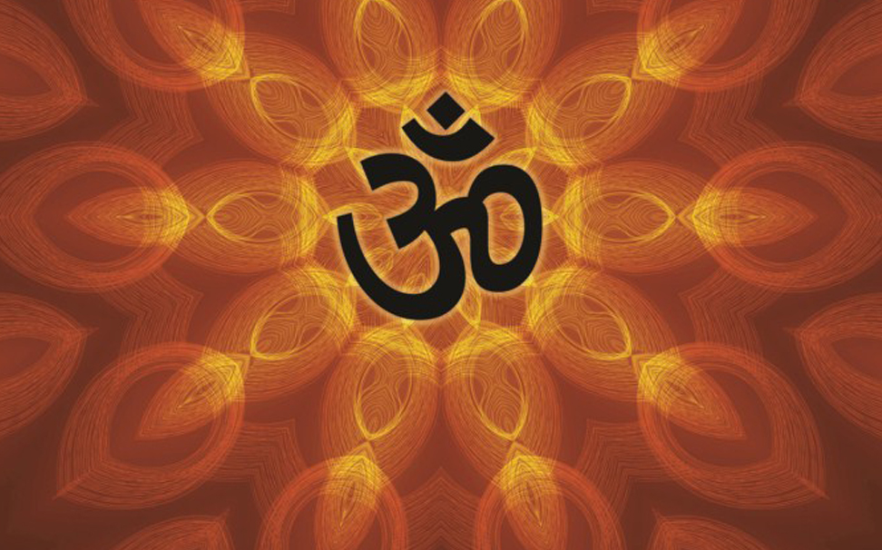 The mantra of self realisation 'Aum' for positive energy - Marshalls