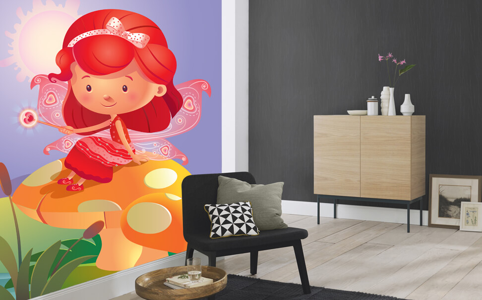 Smart Wall Picture - Colour Fairies