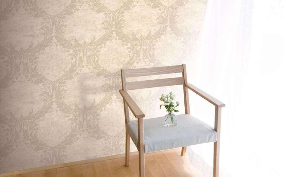 Damask wallpapers - Marshalls