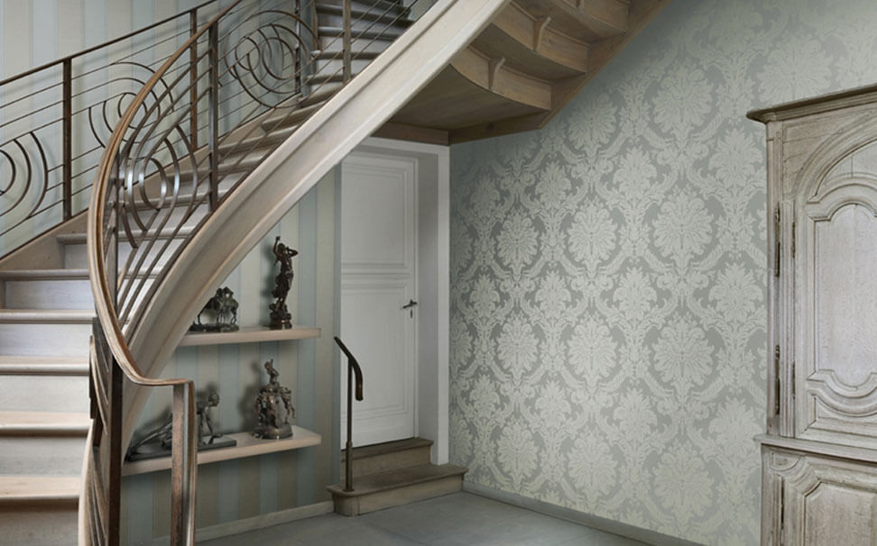 Damask wallpaper - Marshalls