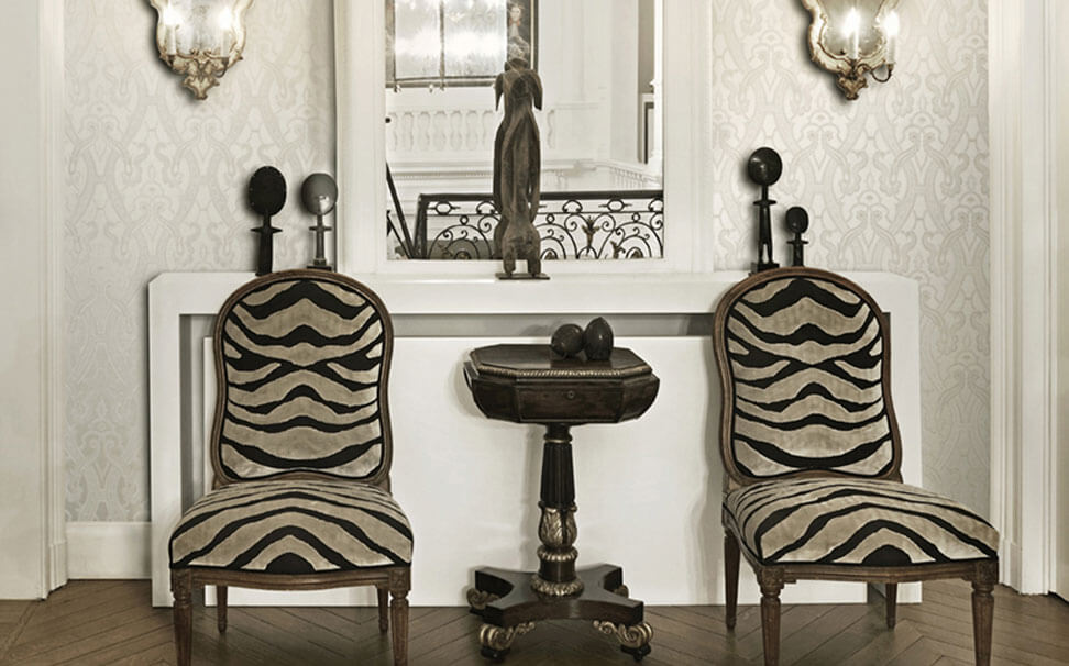Damask wallcovering - Marshalls