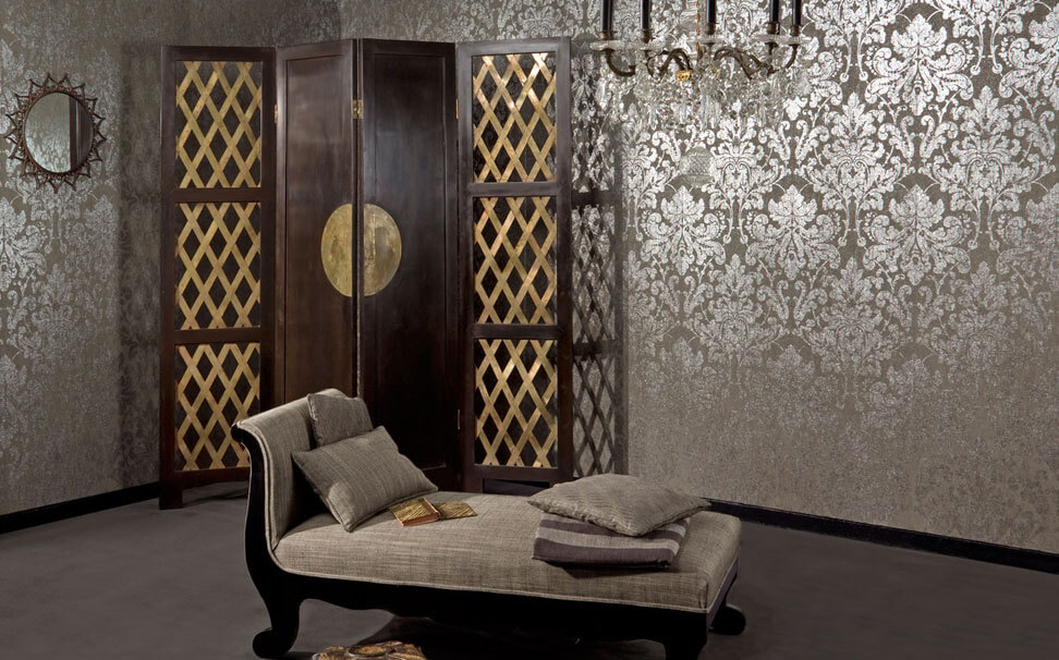 Damask designer wallcovers - Marshalls