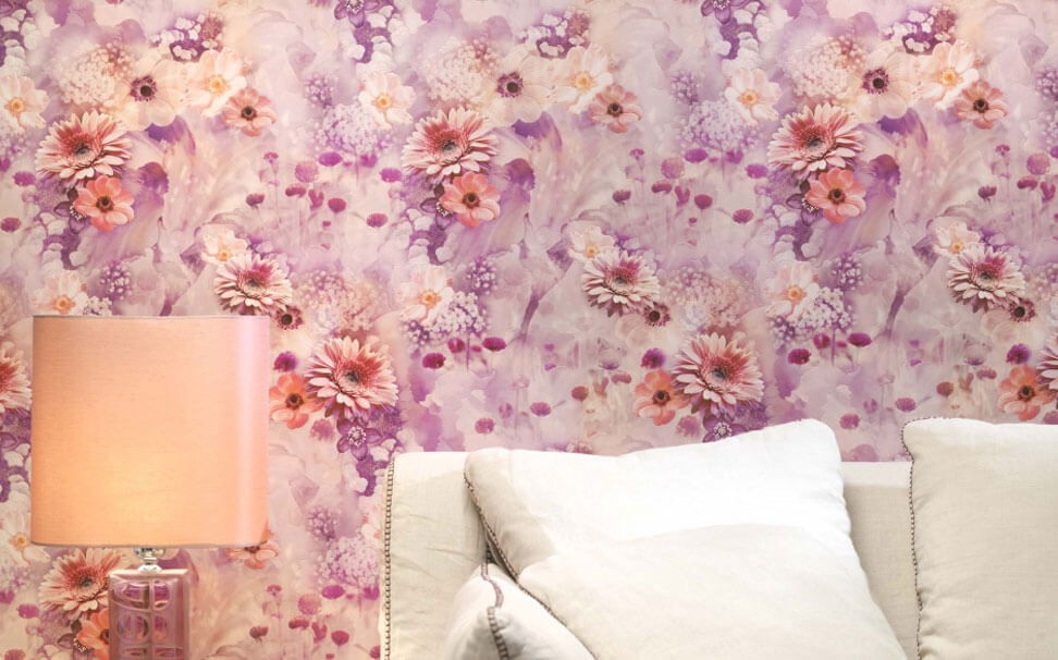 Flower themed wallpapers - Marshalls