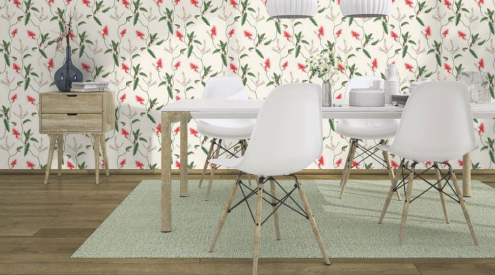 Floral effect wallpapers - Marshalls