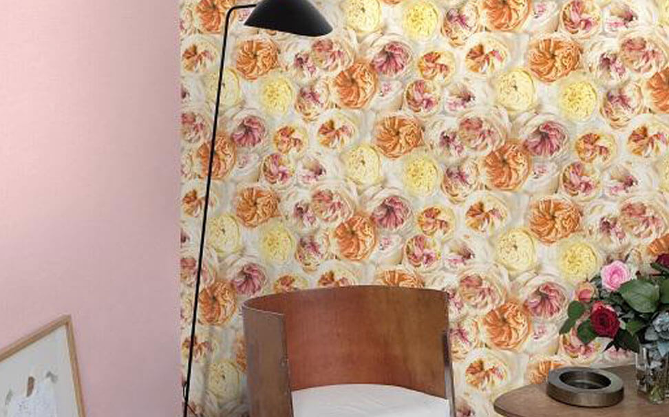 Realistic floral wallpapers - Marshalls