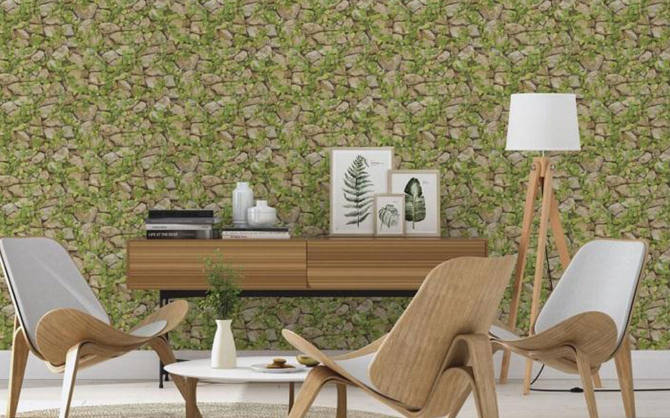 Natural finishes Stone effect wallcovering - Marshalls