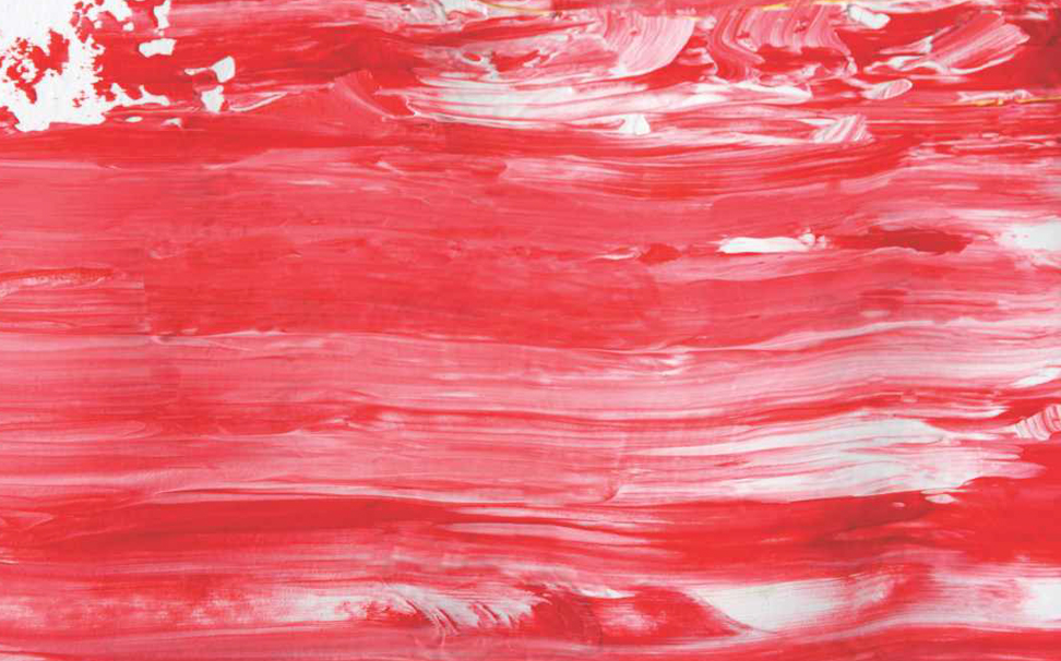 Delicate strokes of red brush Abstract Wallcoverings - Marshalls