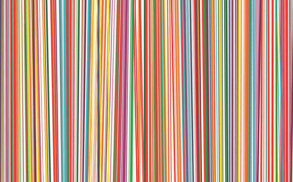 Seamless rainbow colour stripes Abstract Wallcoverings - Marshalls