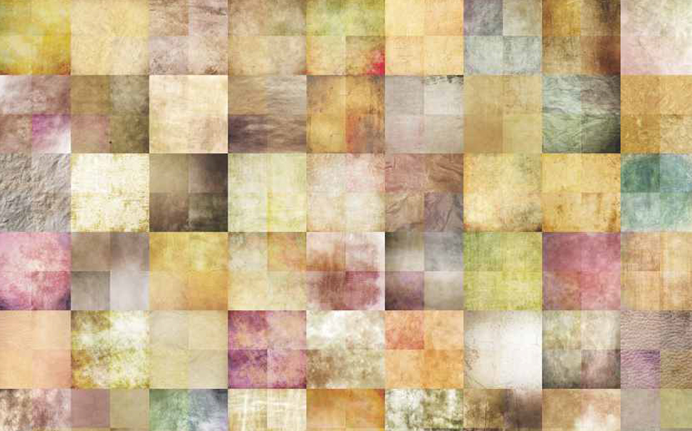 Stylish vintage, weathered old paper texture collage work Abstract Wallcoverings - Marshalls
