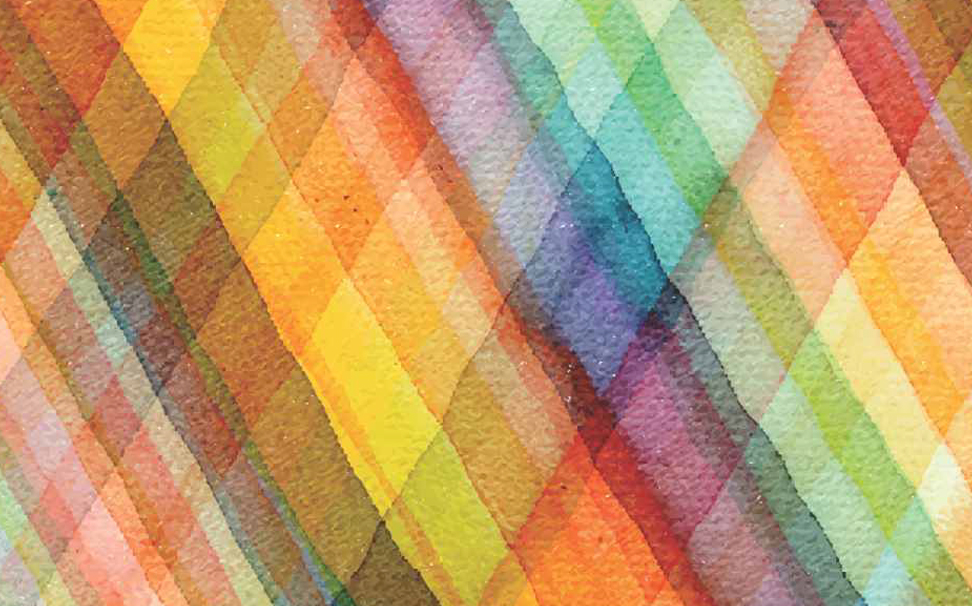 Colourful tartan rectangles Abstract Wallcoverings - Marshalls