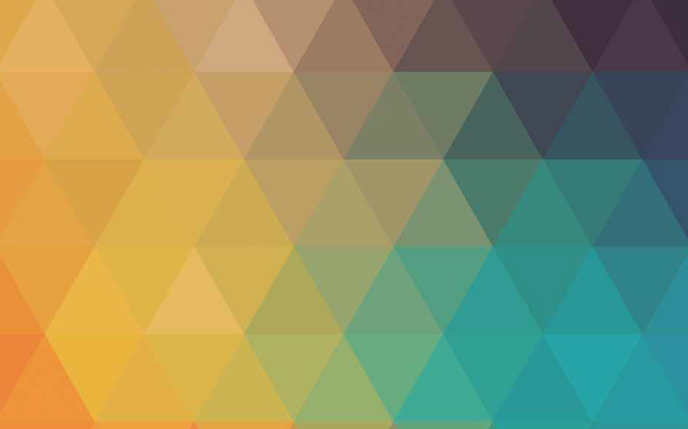 Colourful mosaic geometric triangles Abstract Wallcoverings - Marshalls