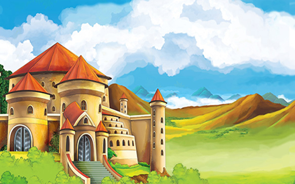 Cartoon castle wallpapers kids - Marshalls