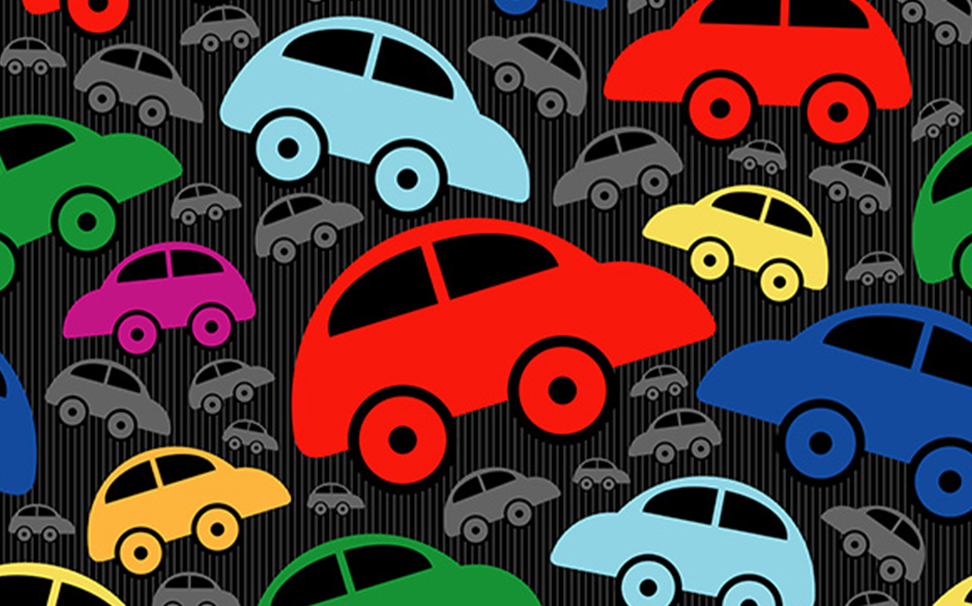 Cars wallpaper for Kids room - Marshalls