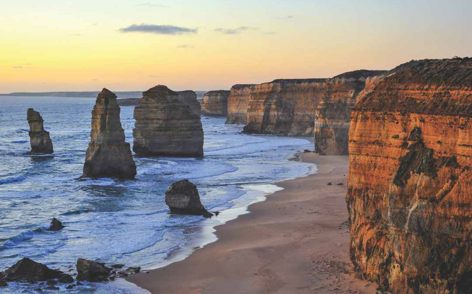 The Twelve Apostles is a marvellous collection of limestone stacks off the shore in Victoria, Australia wallpaper - Marshalls