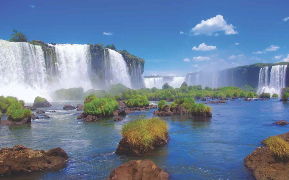 One of the planet's most awe-inspiring sight, Iguazu Falls, Brazil wallpaper - Marshalls