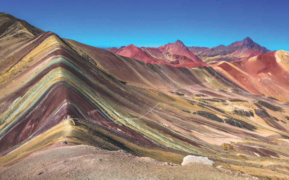 The incredible rainbow mountains of Peru wallpaper - Marshalls
