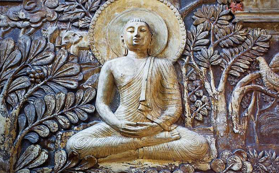 Lord Buddha Wallpaper for walls - Marshalls
