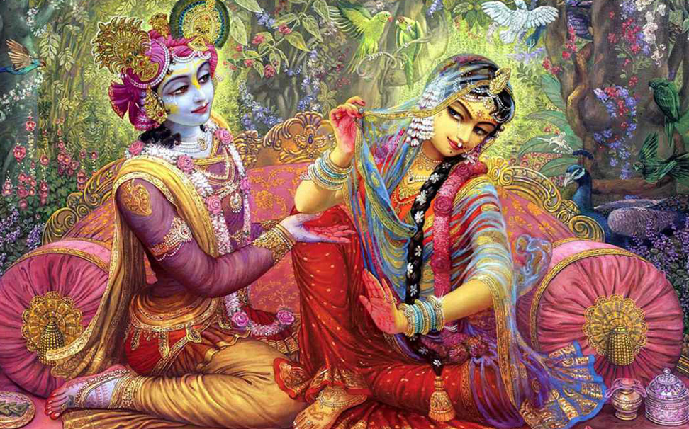 The eternal & symbolic love story of Radha & Krishna - Marshalls